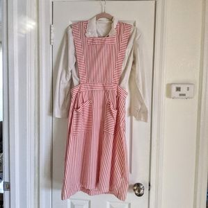 Retro Candy Striper Pinafore